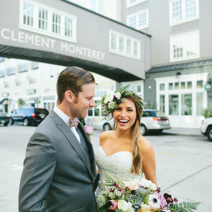 JAMIE + RODNEY'S MONTEREY WEDDING